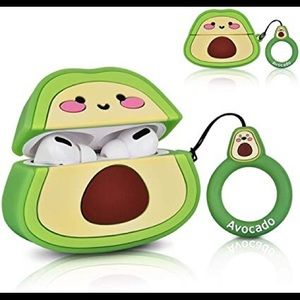 Accessories - Cute Avocado Cover case for AirPods pro